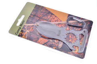 """4"""" Stainless Steel Multifunction Camo Tool"""