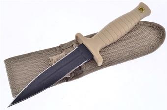 """9"""" Desert Tan Boot Knife"""