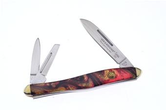 "3.125"" H&R Michael Prater Haiti Pen Knife"