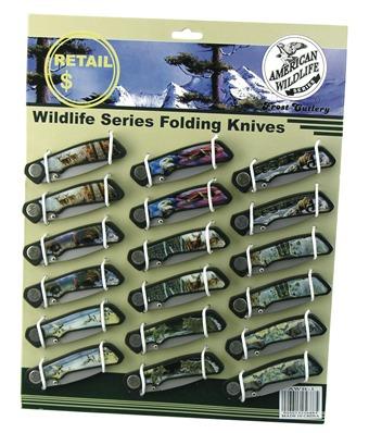 American Wildlife Display 18pc.