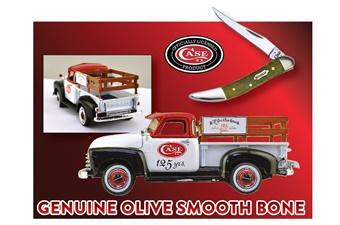 Closeout Case Olive Bone Toothpick/Truck(1