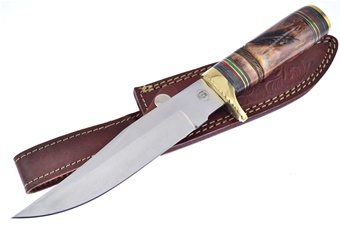 Closeout Chipaway Brown Feather Bowie (1pc)