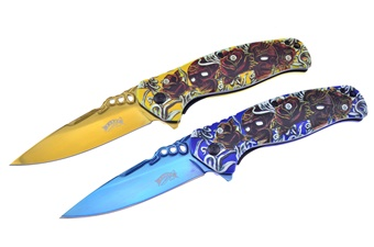 Prototype Titanium Blue/Gold Tactical Set (2pc)