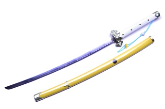 Prototype White/Gold Katana (1pc)
