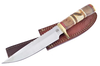 Closeout Chipaway Wood/Bone Bowie (1pc)