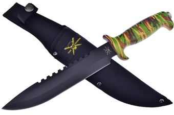 Closeout Camo Composite Bowie (1pc)