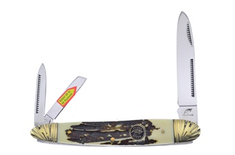 Closeout Stag Bone Resin Whittler (1pc)