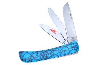Closeout Michael Prater Turquoise 3-Blade Dirt Buster (1pc