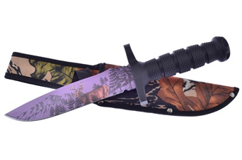 Closeout Deer Print Bowie (1pc)