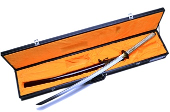 Closeout Ryujin Katana w/Case (2pc)
