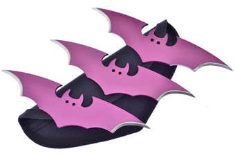 Closeout Pink Bat Throwers (1pc)
