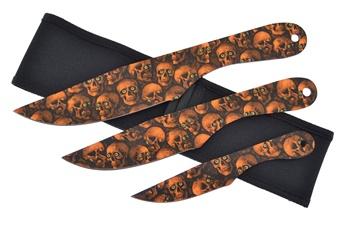 Closeout Orange Skull Camo Throwers(1)