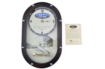 Rare Case Ford Clock + Trapper (1pc)