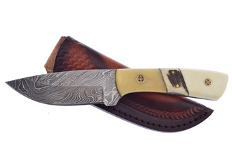 Show Sample Damascus Coyote (1pc)