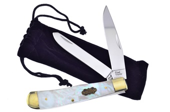 Prototype Steel Warrior Saltwater Mother Of Pearl Trapper (1pc)