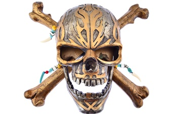 Pirate Bone Skull Mask (1pc)
