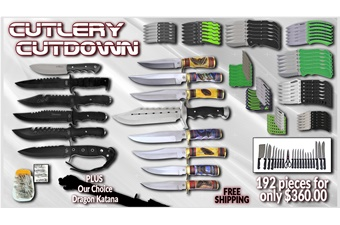 Cutlery Cutdown (192pcs)