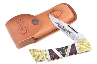 Painted Pony Case Gold Matrix Hammerhead (1