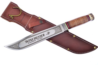 Rare Winchester Stacked Leather Stag(1