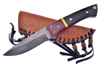 Chipaway Buffalo Head Damascus (1pc