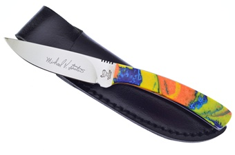 Hen + Rooster Feather Macaw Skinner (1pc)