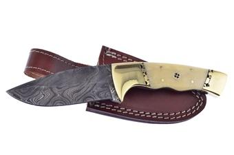 H&R Polished Damascus Skinner (1