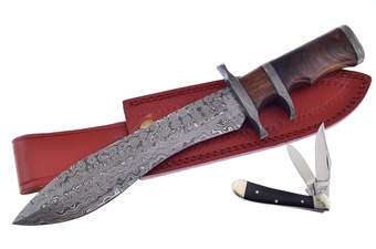 Valley Forge Damascus Subhilt(2p