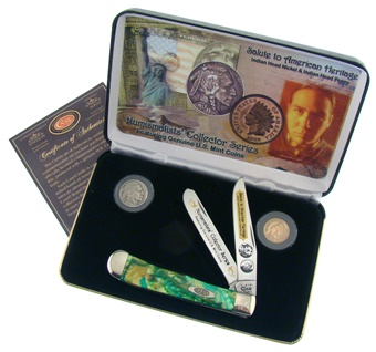 Case Indianhead Coin Collection(1pc)