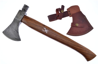 Damascus Pipe Axe (1pc)