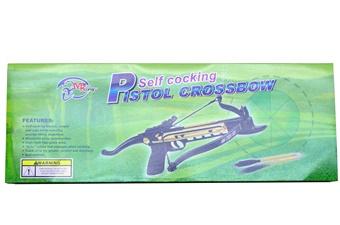Self Cocking Pistol Crossbow (1p