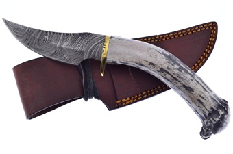 Inlay Crown Stag Damascus (1pc)