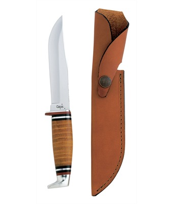 Case Leather Fix Blade w/Sheath (1pc)
