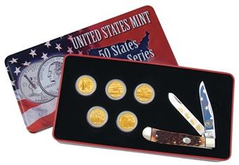 2001 Golden St.Quarter.Collection (1pc)