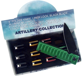 Our Choice Artillery Knives (12p