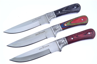 Red Deer Embossed Trio (3pcs)