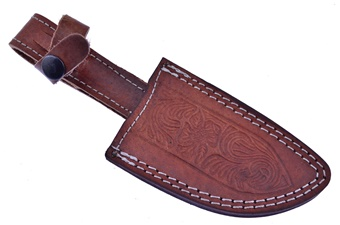Double Stitch Leather Sheath(1pc