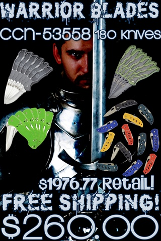 Warrior Blades II (180pcs)