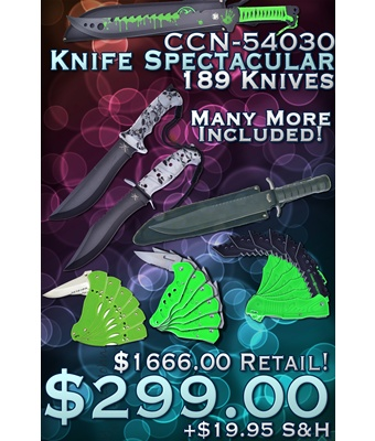 CCN-54030 Knife Spectacular   (189pcs) [Miscellaneous]