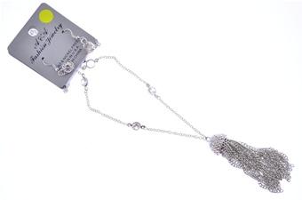 Jewel Tassle Pendant & Earring(1
