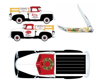 Case Christmas Truck (1pc)