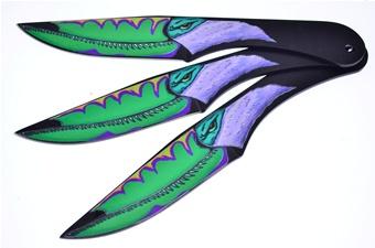 Toucan Triple Throwers (3pcs)