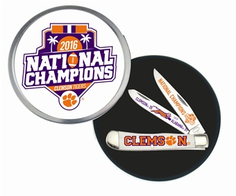 CCN-55801 Clemson Tiger National Champs (1 [Frost Cutlery]