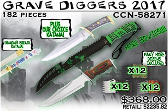 CCN-58271 Grave Diggers 2017 (182pc) [Assorted]