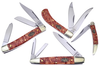 CCN-59039 Wild Turkey Whiskey River Collection (4pc) [Wild Turkey Cutlery]