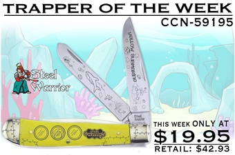 CCN-59195 Trapper Of The Week (1pc) [Steel Warrior]