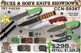Buzz N Bob's Knife Showdown(161pc)