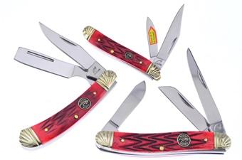 Red Jigbone Favorites (3pcs)
