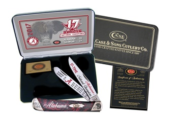Case Low Numbers Alabama Champs (1pc)