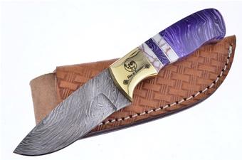 Michael Prater H&R Purple Jasper Damascus (1pc)