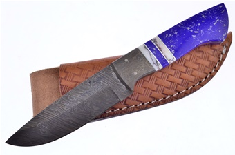 Michael Prater Hr Jasper Lapis Damascus (1pc)